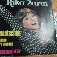 Discos de vinilo: RIKA ZARAI---VENTA MINIMA 5EU--. Lote 130929272