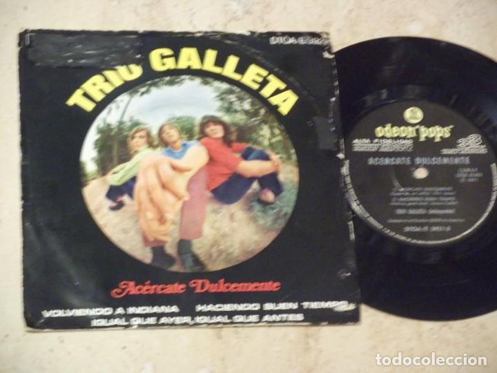 TRIO GALLETA - ACERCATE DULCEMENTE+3- EP ORIGINAL-EMI-ODEON POPS-1971-PSYCHY LATIN ROCK & SOUL (Música - Discos de Vinilo - EPs - Funk, Soul y Black Music)