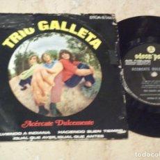 Discos de vinilo: TRIO GALLETA - ACERCATE DULCEMENTE+3- EP ORIGINAL-EMI-ODEON POPS-1971-PSYCHY LATIN ROCK & SOUL. Lote 130929872