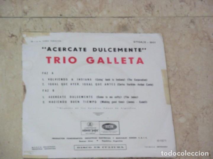 Discos de vinilo: TRIO GALLETA - ACERCATE DULCEMENTE+3- EP ORIGINAL-EMI-ODEON POPS-1971-PSYCHY LATIN ROCK & SOUL - Foto 2 - 130929872