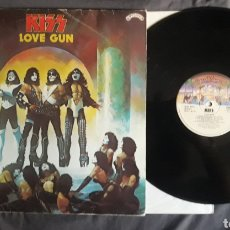 Discos de vinilo: KISS - LOVE GUN REEDICIÓN VINILO 1982 DE INGLATERRA. Lote 130930128