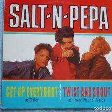 Discos de vinil: SALT N PEPA,TWIST AND SHOUT EDICION ESPAÑOLA DEL 88. Lote 188453880
