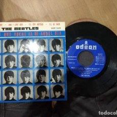Discos de vinilo: EP THE BEATLES TEL ME WHY DSOE 16.618 MUY BUEN ESTADO. Lote 130931204