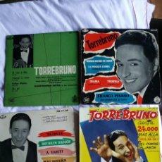 Discos de vinilo: TORREBRUNO: LOTE DE 4 EXT.PLAYS-PARA COLECCIONISTAS. Lote 130931548