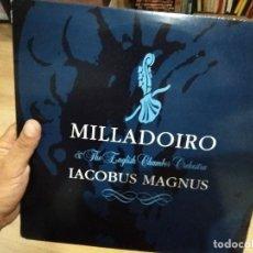 Discos de vinilo: LP MUY RARO MILLADOIRO IACOBUS MAGNUS 1994 MUY BUEN ESTADO VG++/EX. Lote 130933100