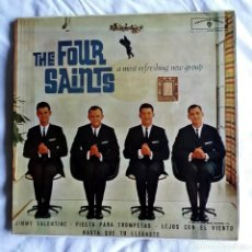 Discos de vinilo: THE FOUR SAINTS: JIMMY VALENTINE- EXCELENTE ESTADO DE CONSERVACION=COLECCIONISTAS. Lote 130936004