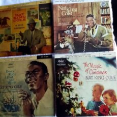 Discos de vinilo: NAT KING COLE: 4 EXCELENTES EXT.PLAYS- EXCELENTE ESTADO-COLECCIONISTAS. Lote 130936116