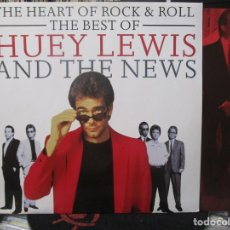 Discos de vinilo: HUEY LEWIS AND THE NEWS ‎– THE HEART OF ROCK & ROLL (THE BEST OF HUEY LEWIS AND THE NEWS)1992. Lote 130937284