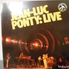 Discos de vinilo: JEAN-LUC PONTY: LIVE. Lote 130939076