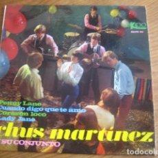 Discos de vinilo: CHUS MARTÍNEZ - LADY JANE ******** RARO EP VERSIONES BEATLES ROLLING STONES . Lote 130967900