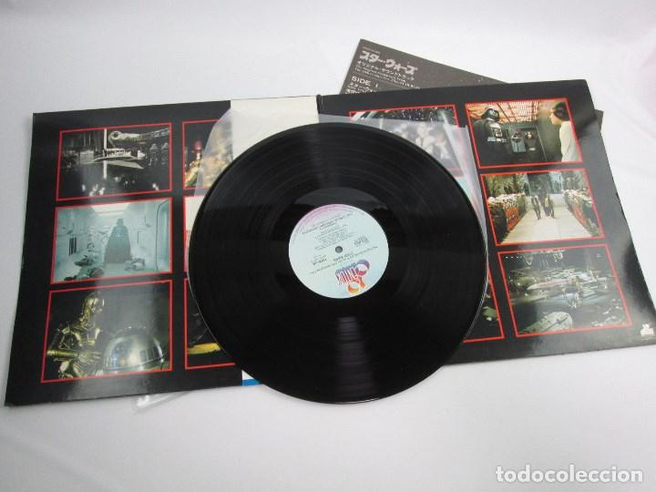 Discos de vinilo: BANDA SONORA LA GUERRA DE LAS GALAXIAS , STAR WARS , DOBLE VINILO EDICIÓN JAPONESA - Foto 6 - 130968404
