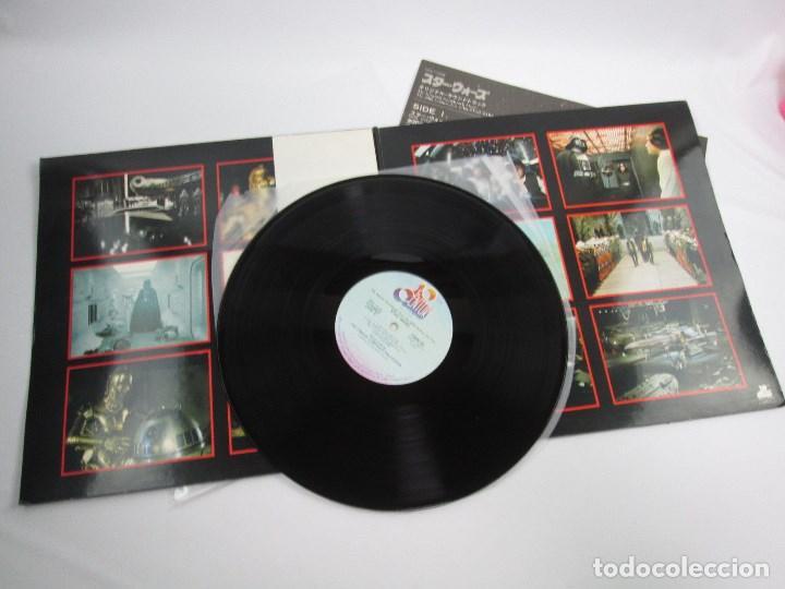 Discos de vinilo: BANDA SONORA LA GUERRA DE LAS GALAXIAS , STAR WARS , DOBLE VINILO EDICIÓN JAPONESA - Foto 7 - 130968404