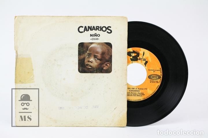 DISCO EP DE VINILO - CANARIOS / NIÑO, REQUIEM FOR A SOUL - BARCLAY - AÑO 1968 (Música - Discos - Singles Vinilo - Grupos Españoles 50 y 60)