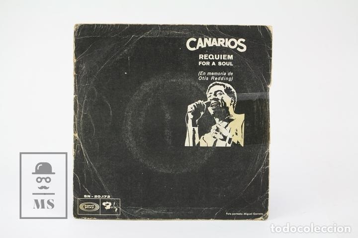 Discos de vinilo: Disco Ep De Vinilo - Canarios / Niño, Requiem For A Soul - Barclay - Año 1968 - Foto 3 - 130977948