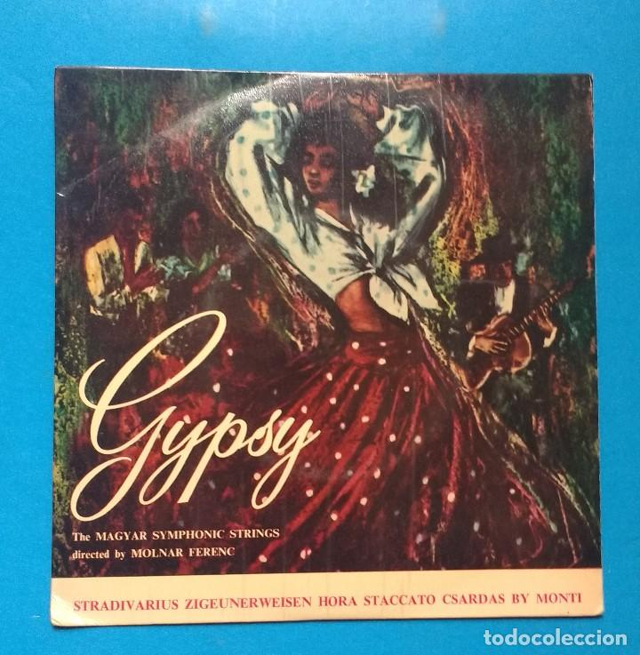 THE MAGYAR SYMPHONIC STRINGS CONDUCTED BY MOLNAR FERENC – FAVOURITE GYPSY TUNES (Música - Discos de Vinilo - EPs - Jazz, Jazz-Rock, Blues y R&B)