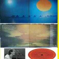 Discos de vinilo: SANTANA - CARAVANSERAI 1972 - DOBLE CARPETA TEXTURADA, 1º PRESS ORG USA, TODO IMPECABLE. Lote 130982589