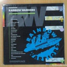Discos de vinilo: VARIOS - RAINBOW WARRIORS / GREENPEACE - GATEFOLD - 2 LP. Lote 130984313