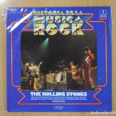 Discos de vinilo: THE ROLLING STONES - HISTORIA DE LA MUSICA ROCK - LP. Lote 130984555