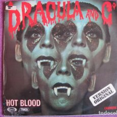 Discos de vinilo: LP - HOT BLOOD - DRACULA AND Cº (SPAIN, MOVIEPLAY 1977). Lote 130984640