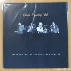 Discos de vinilo: ELVIS PRESLEY - ELVIS PRESLEY Ե5 RECORDED LIVE AT THE LOUISIANA HAYRIDE - GATEFOLD - LP. Lote 130984649