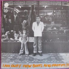 Discos de vinilo: LP - IAN DURY - NEW BOOTS AND PANTIES (SPAIN, STIFF RECORDS 1982). Lote 130984772