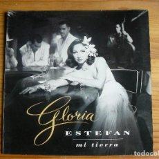 Discos de vinilo: GLORIA ESTEFAN - MI TIERRA. Lote 133558039