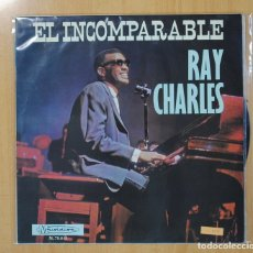 Discos de vinilo: RAY CHARLES - EL INCOMPARABLE RAY CHARLES - LP. Lote 130988188