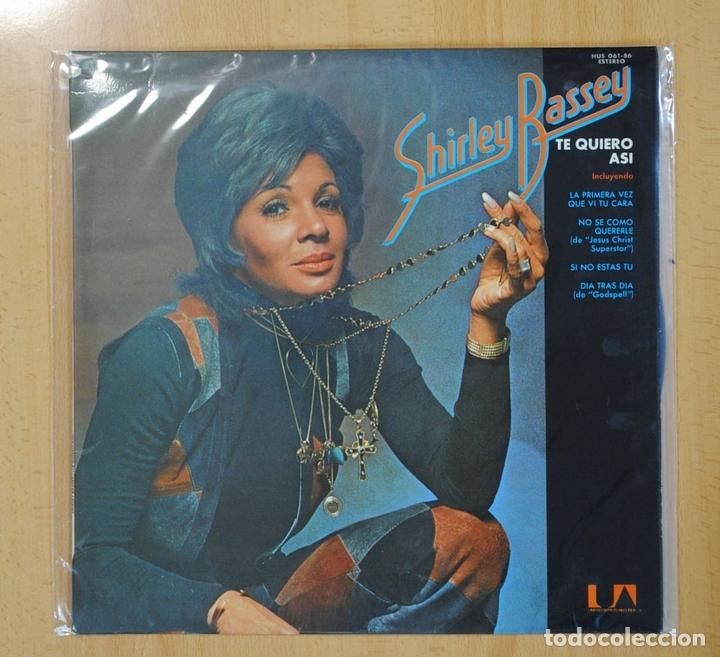 SHIRLEY BASSEY - TE QUIERO ASI - LP (Música - Discos - LP Vinilo - Pop - Rock - Extranjero de los 70)