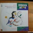 Discos de vinilo: WIMBLEDON HITS 90 - VATRIOS ARTISTAS - DISCO DOBLE. Lote 130988352