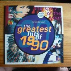 Dischi in vinile: THE GREATES HITS OF 1990 - VATRIOS ARTISTAS - DISCO DOBLE. Lote 130988440