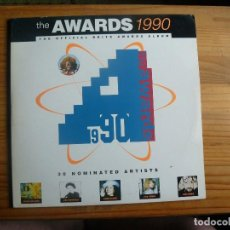 Discos de vinilo: THE AWARDS 1990 - VATRIOS ARTISTAS - DISCO DOBLE. Lote 130988608