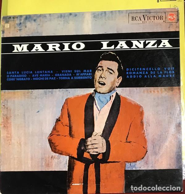 MARIO LANZA ?– LP RCA VICTOR ?SPAIN 1965 (Música - Discos - LP Vinilo - Solistas Españoles de los 50 y 60)