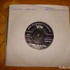 Discos de vinilo: STAN GETZ. DESAFINADO / JAZZ THEME FROM DR. KILDARE. HIS MASTER´S VOICE, 1962. EDICION INGLESA.. Lote 130989876