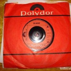 Discos de vinilo: SLADE. SKWEEZE ME, PLEEZE ME / KILL´EM AT THE HOT CLUB TONITE.POLYDOR,1973. EDIC. INGLESA. IMPECABLE. Lote 130991192