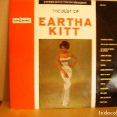 Discos de vinilo: EARTHA KITT ---- THE BEST OF. Lote 131002848