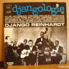 Discos de vinilo: DJANGO REINHARDT --- DJANGOLOGIE 3. Lote 131003024