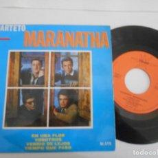 Discos de vinilo: CUARTETO MARANATHA-EP EN UNA FLOR +3. Lote 131007020