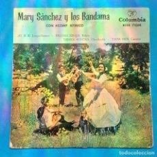 Discos de vinilo: MARY SÁNCHEZ Y LOS BANDAMA - AY, SI, SI + 3. Lote 131008828