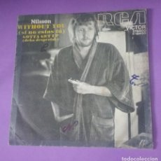 Discos de vinilo: NILSSON - WITHOUT YOU. Lote 131010684