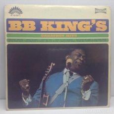 Discos de vinilo: BB KING'S GREATEST HITS - LP VINILO - MARFER SA . Lote 131011776
