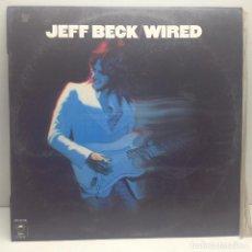 Discos de vinilo: JEFF BECK - WIRED - LP VINILO - 1976. Lote 131011900