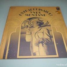 Discos de vinilo: !SUPER PRECIO! EXTRAORDINAIRE ! IVES MONTAD LP CARPETA ABIERTA !PEDIDO MÍNIMO 10€!. Lote 131013244