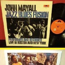Discos de vinilo: JOHN MAYALL / JAZZ BLUES FUSION 1972 !! 1ª ORIG. EDIT USA POLYDOR 1º PRESS !! TODO IMPECABLE. Lote 42459450