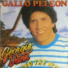 Discos de vinilo: GEORGIE DANN ?– GALLO PELEÓN (ESPAÑA, 1987). Lote 131015372