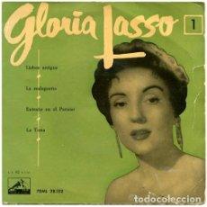 Discos de vinilo: GLORIA LASSO – GLORIA LASSO 1 (ESPAÑA, 1976). Lote 131015792