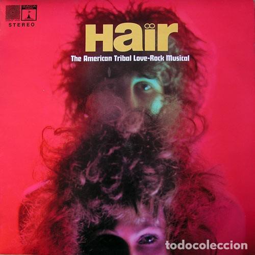 THE GRAHAM WALKER SOUND ?– HAIR (THE AMERICAN TRIBAL LOVE-ROCK MUSICAL. UK, 1969) (Música - Discos - LP Vinilo - Bandas Sonoras y Música de Actores )