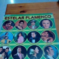 Discos de vinilo: ESTELAR FLAMENCO. VARIOS ARTISTAS. LOLA FLORES. ANTOÑITA PAÑUELA. FOSFORITO. .. C2V. Lote 131017024