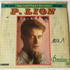 Discos de vinilo: P. LION - DREAM - 1984. Lote 131023132