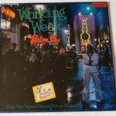 Discos de vinilo: WORKING WEEK - RODRIGO BAY - 1986. Lote 131023644