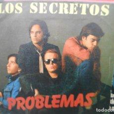 Discos de vinilo: LOS SECRETOS - PROBLEMAS. Lote 131031876